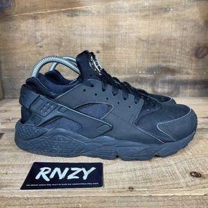 Nike Air Huarache Triple Black Athletic Sneakers